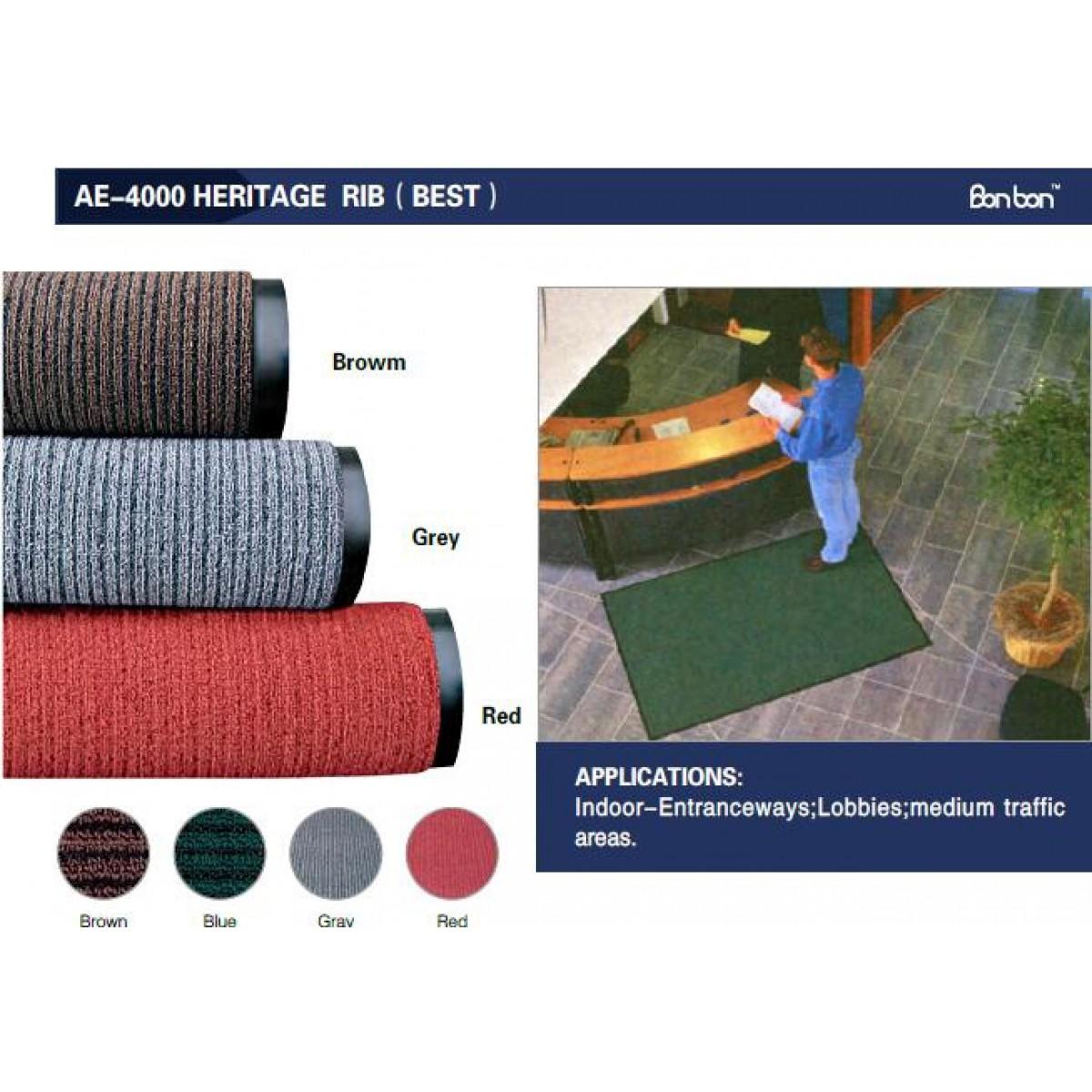 AE-4000 Heritage Rib(條紋地毯)