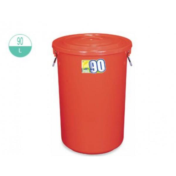 90升圓形萬用桶連蓋(2220/2220-1)