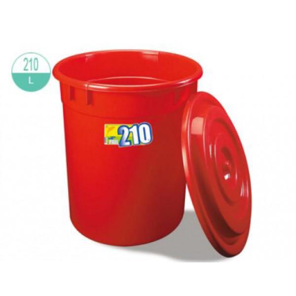 210升圓形萬用桶連蓋(2255/2255-1)