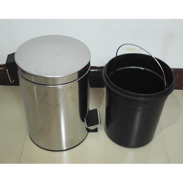 不鏽鋼腳踏垃圾桶(A-01)