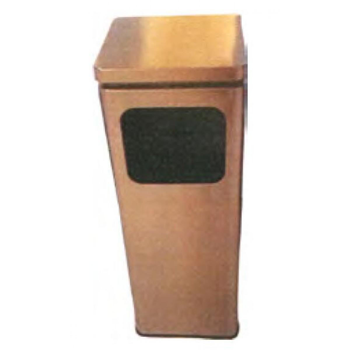 不鏽鋼電鍍垃圾桶(NC-160)
