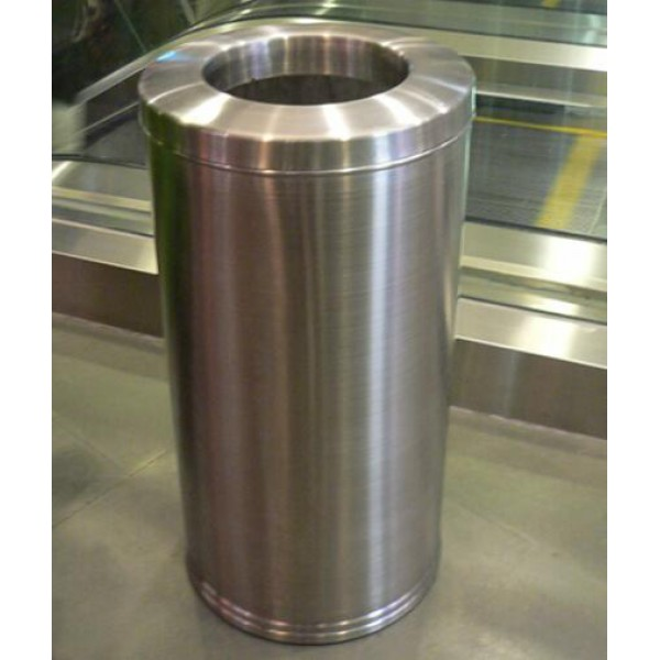 不鏽鋼圓形垃圾桶(RG-33)