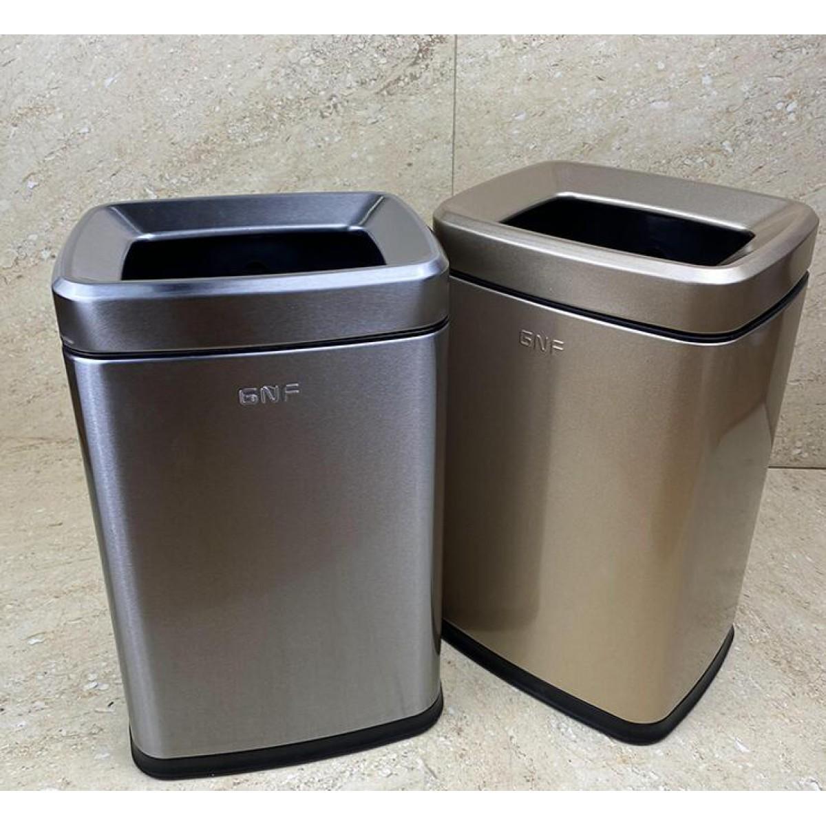 不鏽鋼長方形垃圾桶(SF-F01)