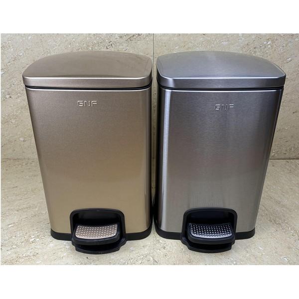 不鏽鋼腳踏式垃圾桶(SJ5-F01)