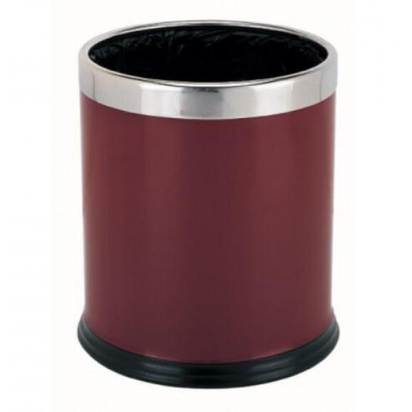 雙層烤漆房間垃圾桶(JD-2106F)