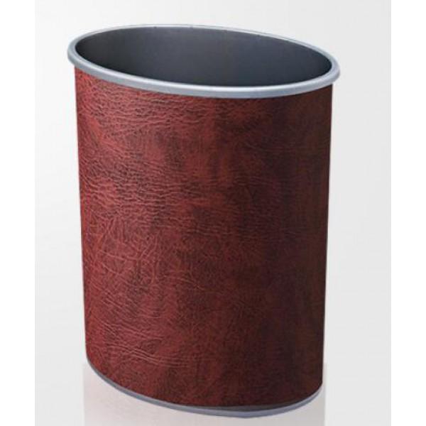 橢圓形人造皮垃圾桶(JD-2114B)