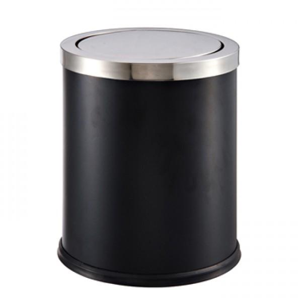 翻蓋垃圾桶(JD-2122F)