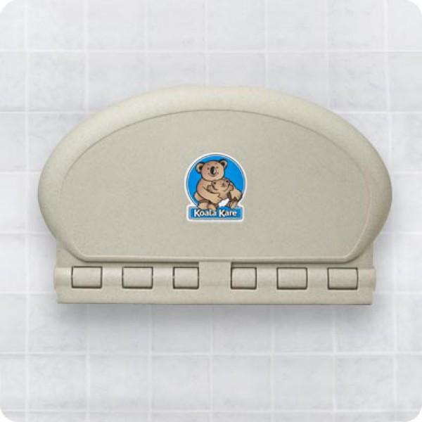 橢圓形掛牆式嬰兒換片架(KB208-00)