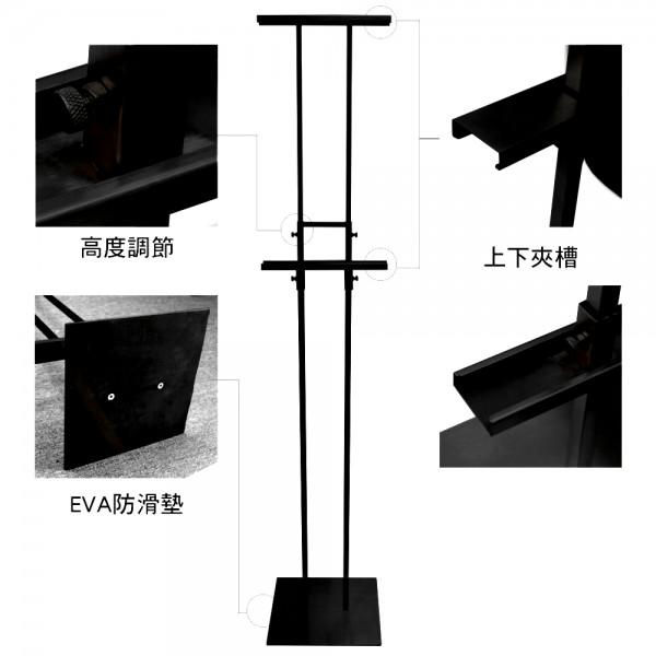 H型雙面展示架(HH-2000)