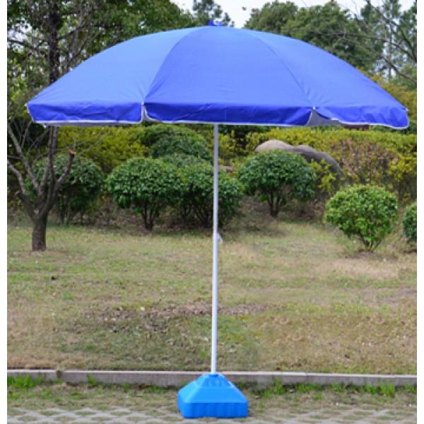 防風鐵骨銀膠底太陽傘