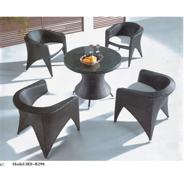 仿藤桌椅套裝(HD-B290)