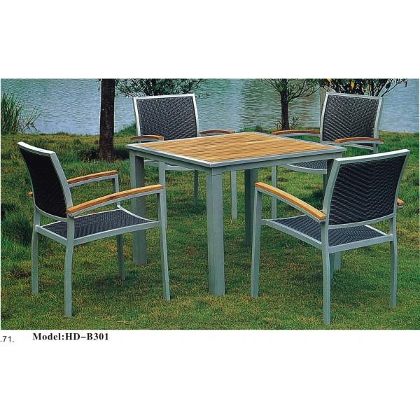 仿藤桌椅套裝(HD-B301)
