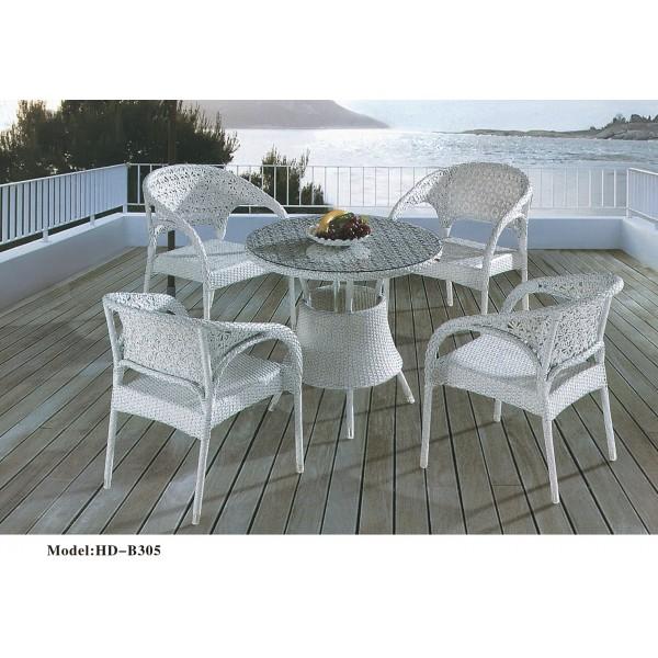 仿藤桌椅套裝(HD-B305)