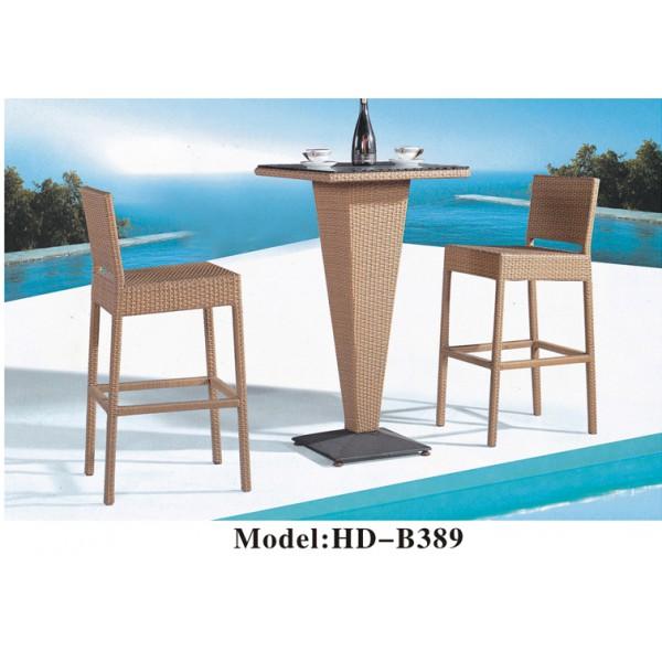 仿藤桌椅套裝(HD-B389)