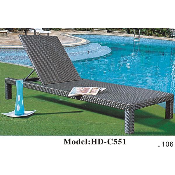 戶外仿藤躺椅(HD-C551)