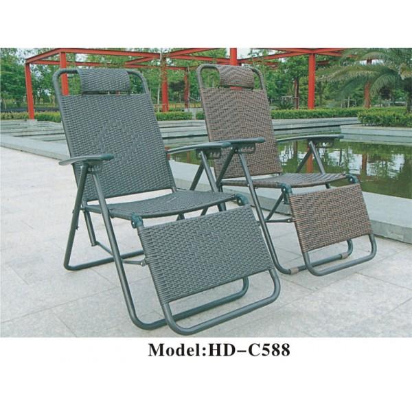 三摺仿藤躺椅(HD-C588)