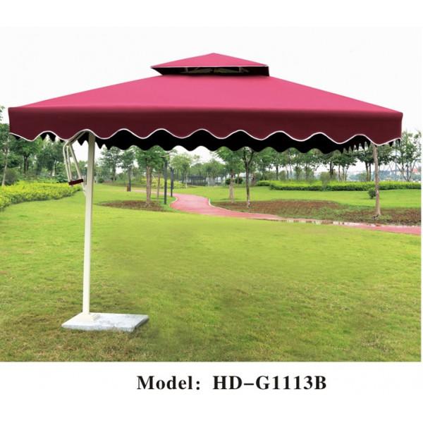 戶外雙頂垂布太陽傘(HD-G1113B)