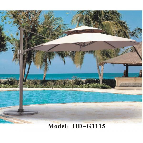 戶外雙頂垂布太陽傘(HD-G1115)