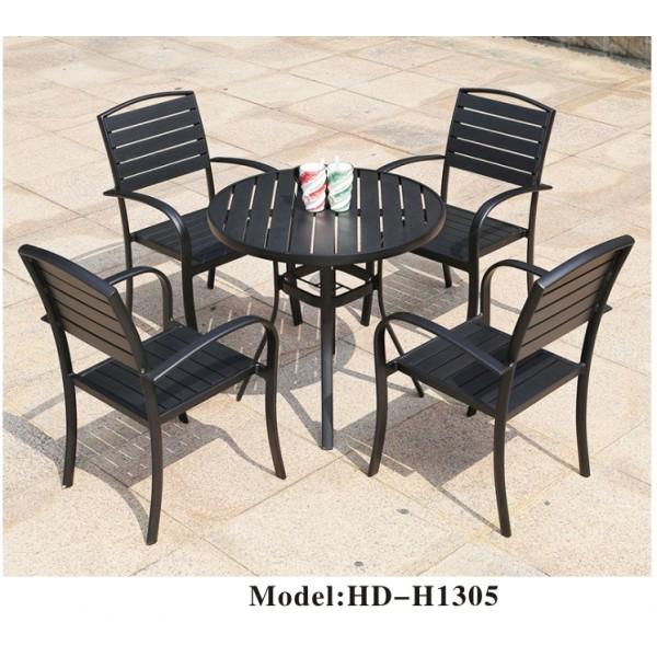 仿木戶外桌椅套裝(HD-H1305)
