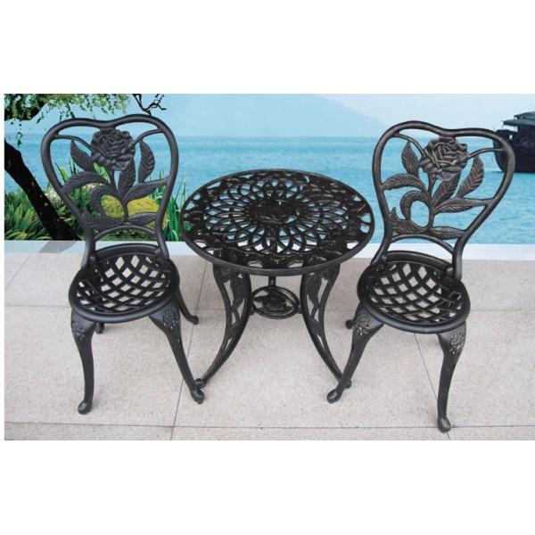 戶外鑄鋁桌椅套裝(HD-K1635B)