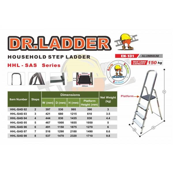 DR.LADDER 輕便扶手鋁梯